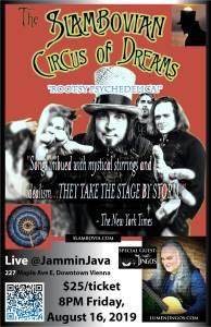 The Slambovian Circus of Dreams Live @JamminJava with special guest Lumen Jingos