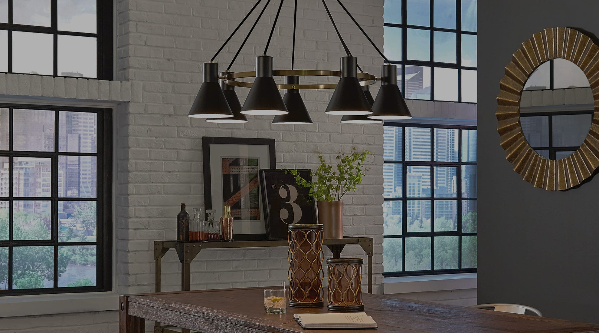 industrial modern lighting looks we