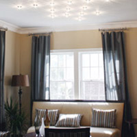 ceiling lights for living rooms dark grey sectional room ideas modern fixtures lamps at lumens com recessed lighting