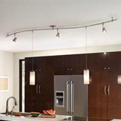 Kitchen Lighting Moen Faucet Reviews Ceiling Wall Undercabinet Lights At Lumens Com Track Monorail