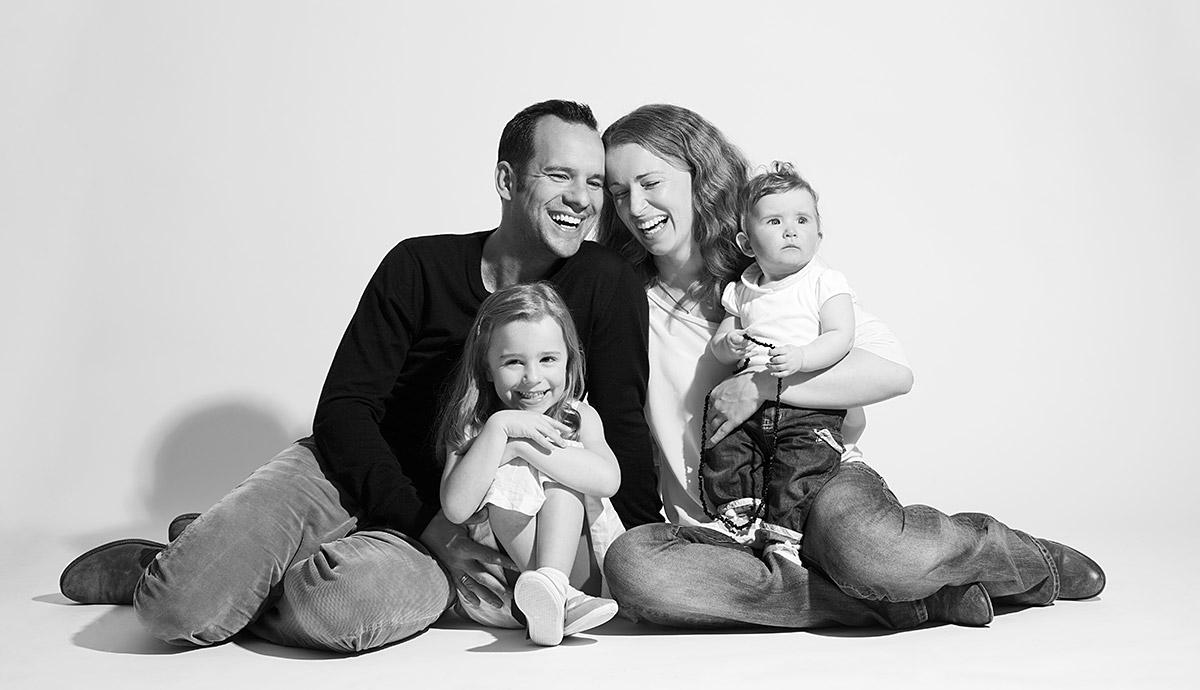 Familienfotos Zu Hause Machen