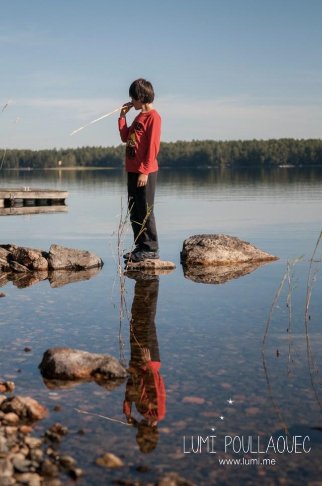 Tomi, Mon neveu autiste - enfant autiste -Photographie - reportage - Finlande - enfance -heureux