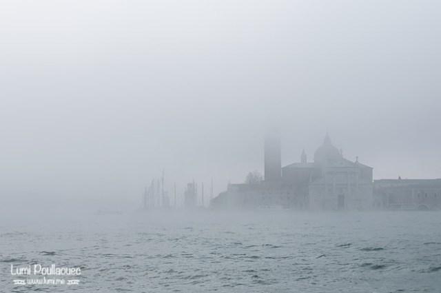 Venise - Italie - brume mer mystérieux photographie voyage