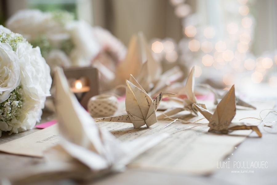 Quand de vieilles factures s'origamisent...