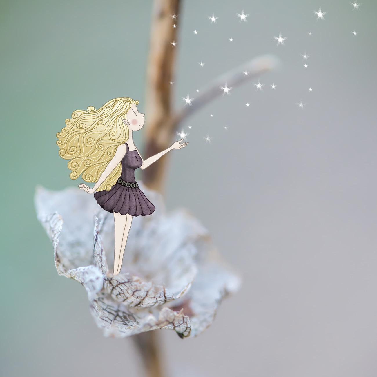 petite fée - Lumi Poullaouec - Création - Photographie et illustration féérique