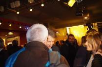 Gilles GOSSEREZ et Vincent PEILLON en pleine discussion