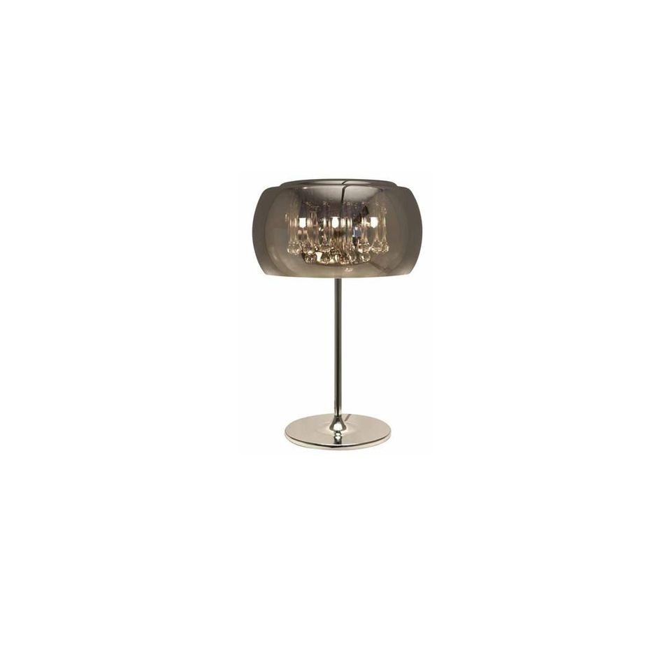 Lampe De Table 23.75″H Chrome HGHO123