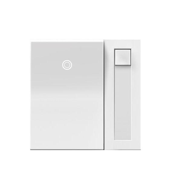 Gradateur PADDLE Unipolaire/3voies Blanc Incandescent, Halogène 450W ADPD453LW2