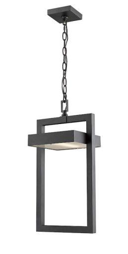 Suspension Z-Lite Luttrel 566CHB-BK-LED