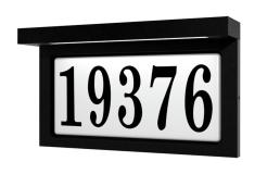 Plaque Adresse Snoc Éclairé 1719