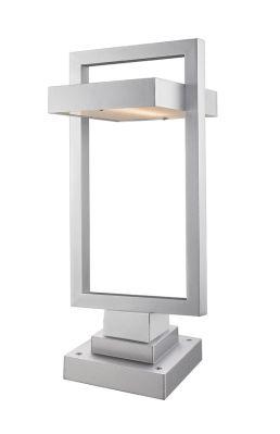 Lampe Piédestal Extérieure Z-Lite Luttrel 566PHBS-SQPM-SL-LED