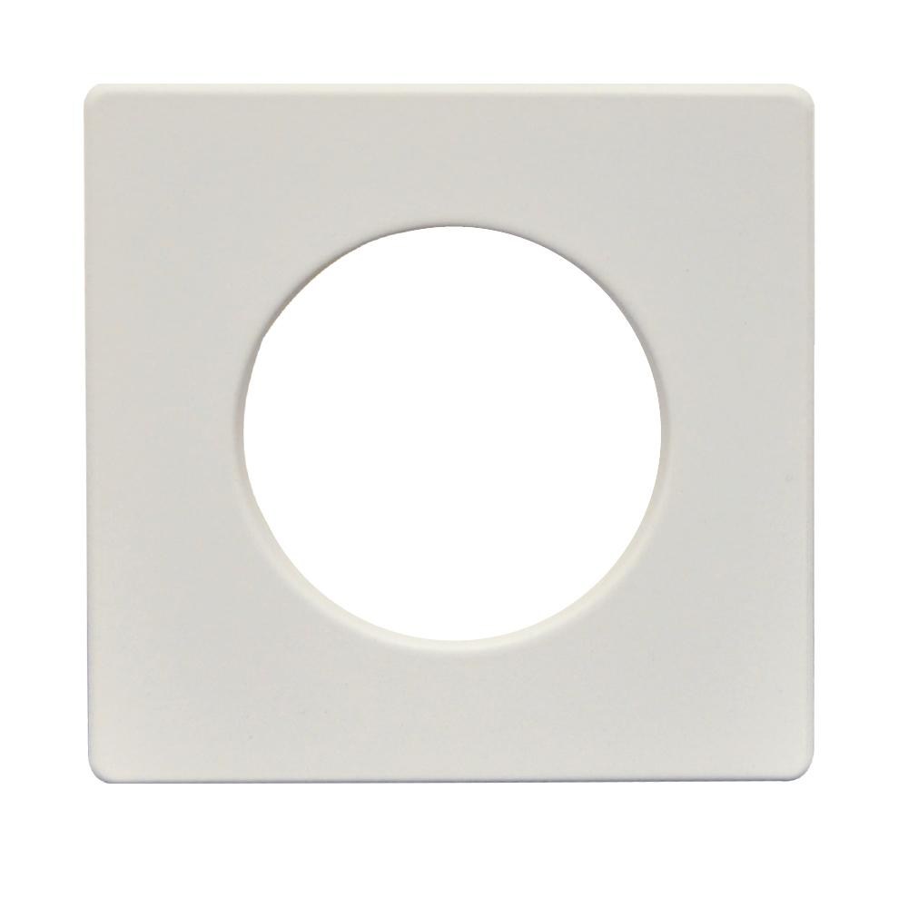 Finition Plate Standard 3″ Blanche 65434