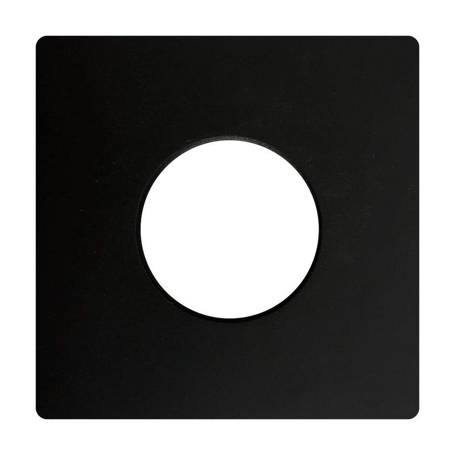 Finition Plate Standard 4″ Noir 66233