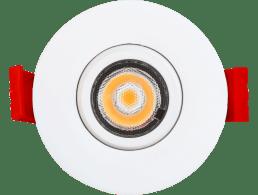 ENCASTRE 2″  LED, ROND BLANC NEUTRE DE TYPE IC,  SERIE 1-27, ADLED2S5W4KXXEY