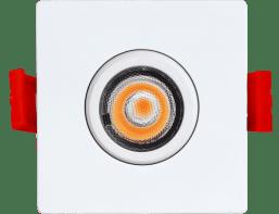 ENCASTRE 2″  LED, CARRE BLANC NEUTRE DE TYPE IC,  SERIE 1-27, ADLED2S5W4KXXSQ