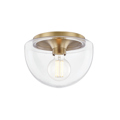 LUMINAIRE PLAFONNIER, COLLECTION JASMINE, SERIE-HUDSON VALLEY, H284501S-AGB
