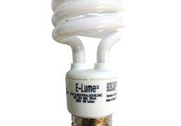 Ampoule Fluocompacte T2 E-Lume E26/13W/3000K 61024