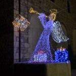 (Foto 16 -22) Angelo 3d da 3.00 X 2.00 m cambio colore bianco e blu (visiona video)
