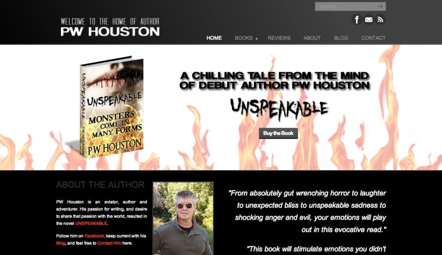 Author PW Houston