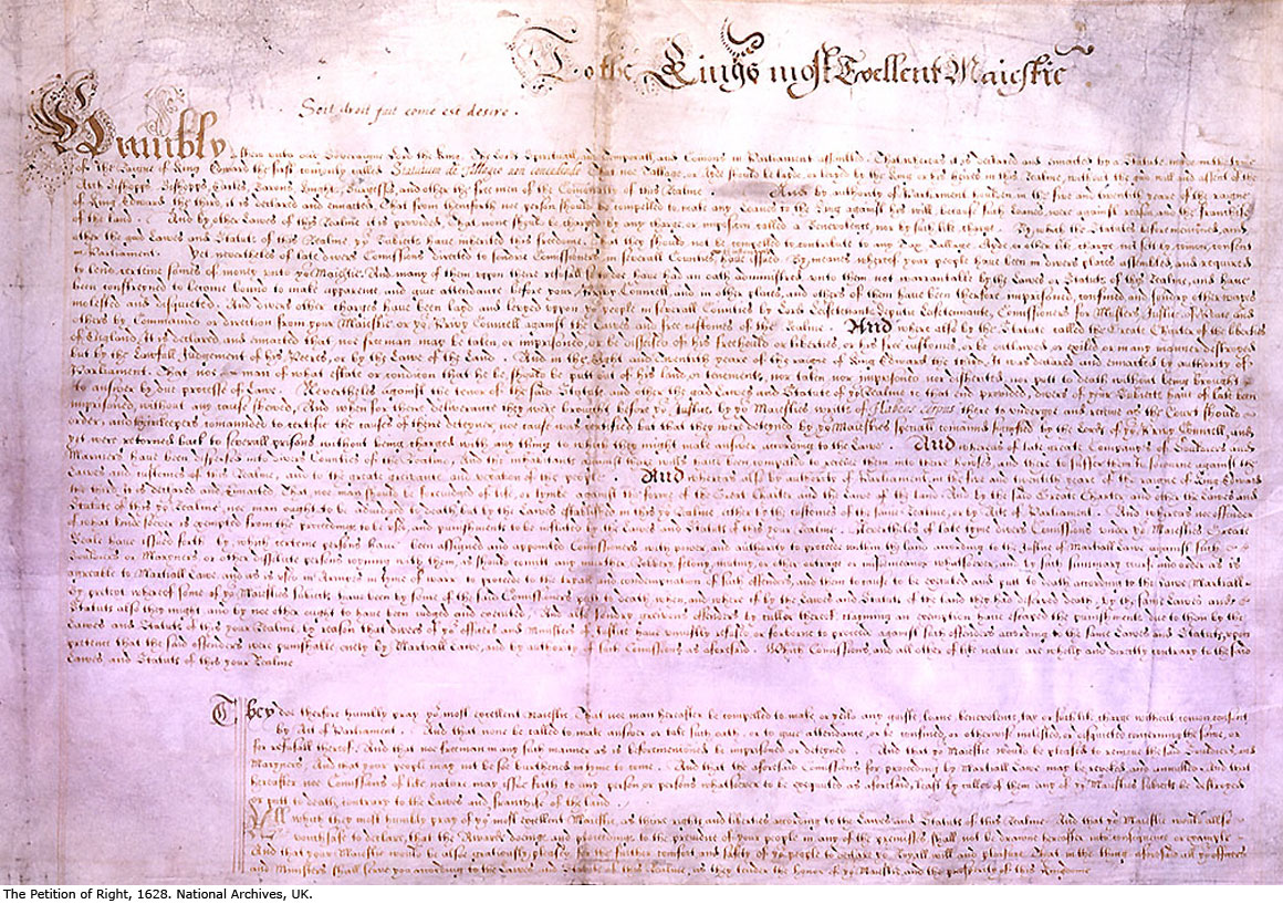 Petition of Right (1628)
