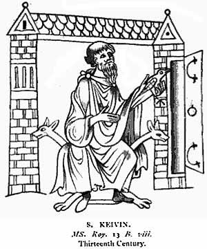 Irish Saints' Tale: St. Kevin and the Blackbird. Celtic