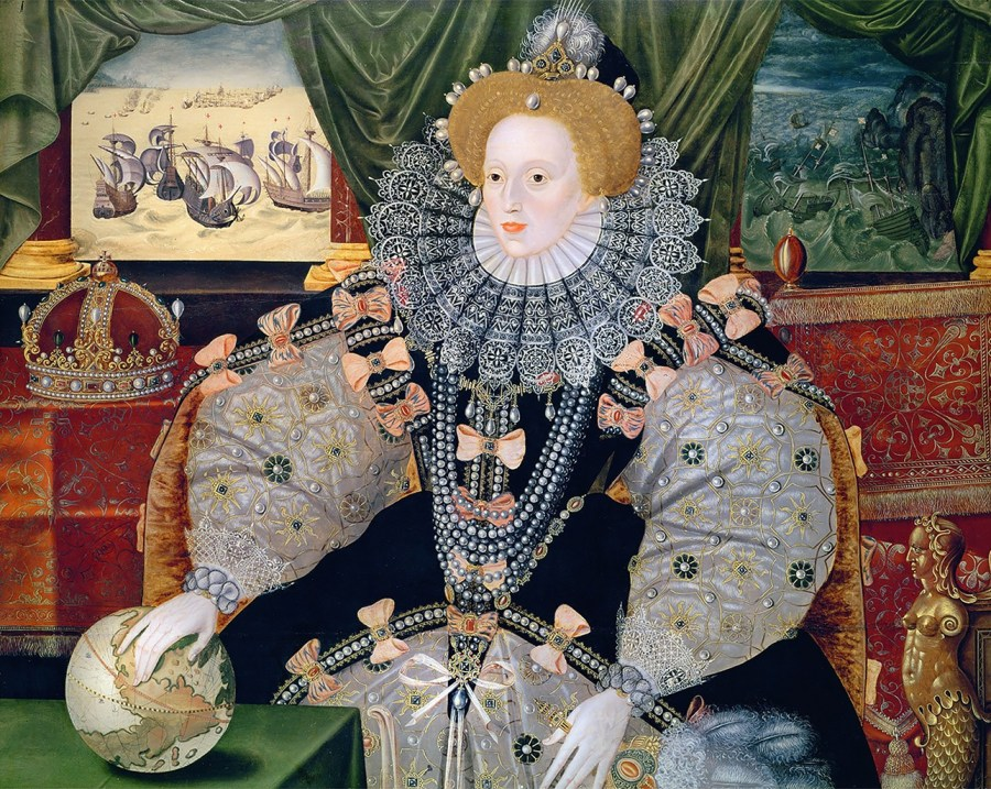The Armada Portrait of Queen Elizabeth I, c.1588.