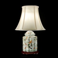 TL0119 - White With Bird Lamp | Lumination Lighting