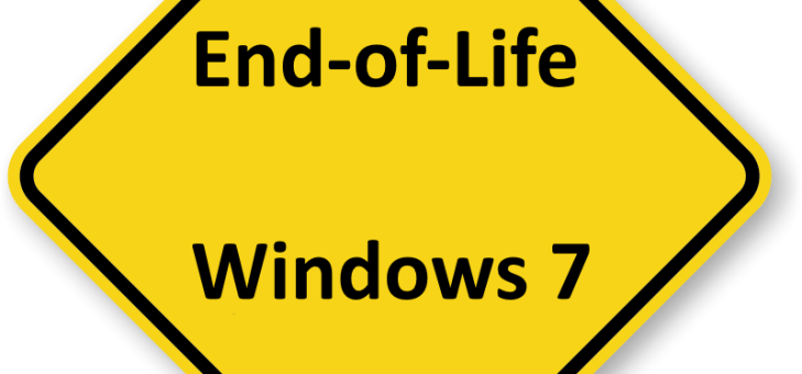 Extended Support for Windows 7 to Stop in 2020