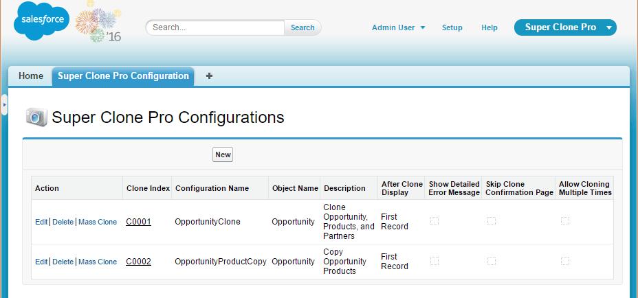 Configuration Settings - LuminosityCRM