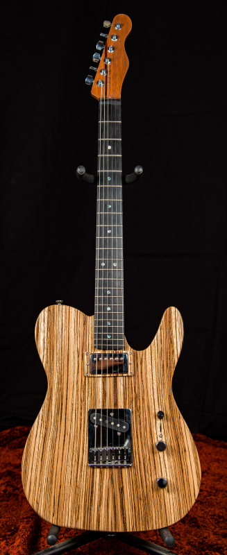 Centerline Deluxe Black Korina with Zebrawood