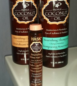 Hask Shampoo & Conditioner Bottles