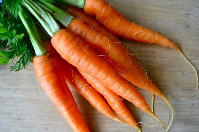 carrots for acne