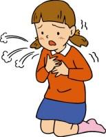 喘息の咳の止め方教えて下さい