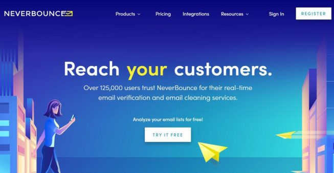 NeverBounce, NeverBounce review, NeverBounce pricing, NeverBounce feature, email verifier, bulk email verifier, best email verification software, verify email address, free email verification services, email validation tools.