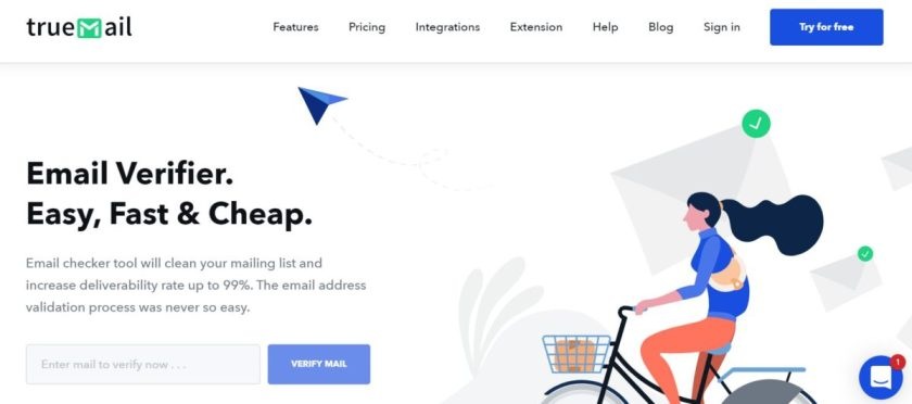 Truemail, truemail review, true mail pricing, true mail feature, best email checker, best free email checker, bulk email validation, email verification services, email checking, email spam checking, mx record, free email verification