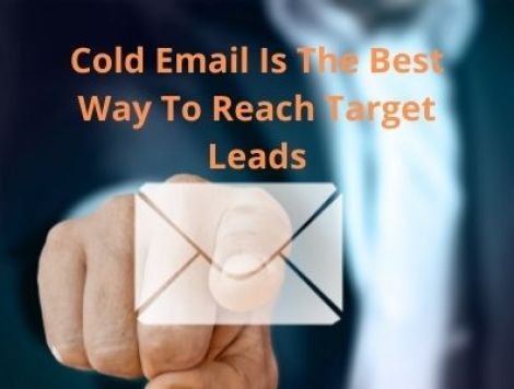 Cold email marketing for lead generation, organic lead generation strategies, cold email outreach