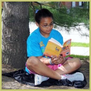 book reader w border