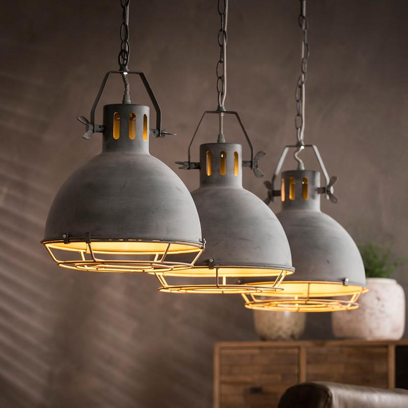 Mioni Fabbrica  Robuuste hanglampen betonlook  8162M48