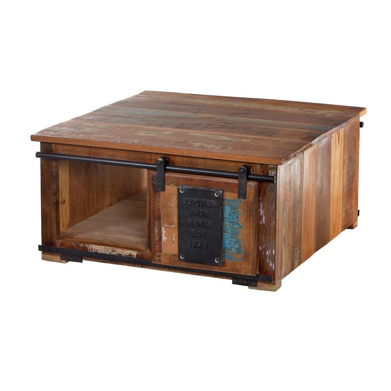 Salontafel van gerecycled hout  Lavis Clenn  LUMZ