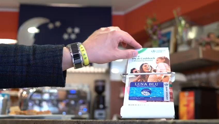 Cashback Card Ristorante Pizzeria Luna Blu Parma