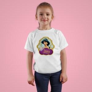 Playera cumpleaños fiesta Princesa Jasmine