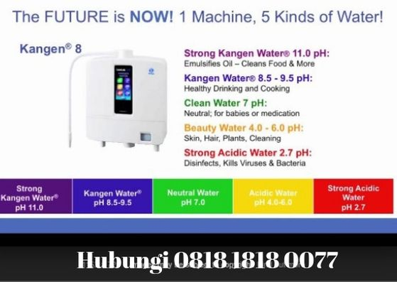 Kangen Water Air Alkali