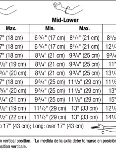 View sizing chart also jobst bella strong arm sleeve luna medical lymphedema garment experts rh lunamedical