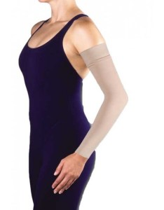 Jobst bella lite arm sleeve armsleeve with silicone band also luna medical lymphedema garment experts rh lunamedical