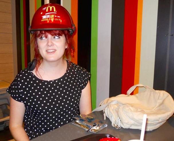 McDonalds does hats