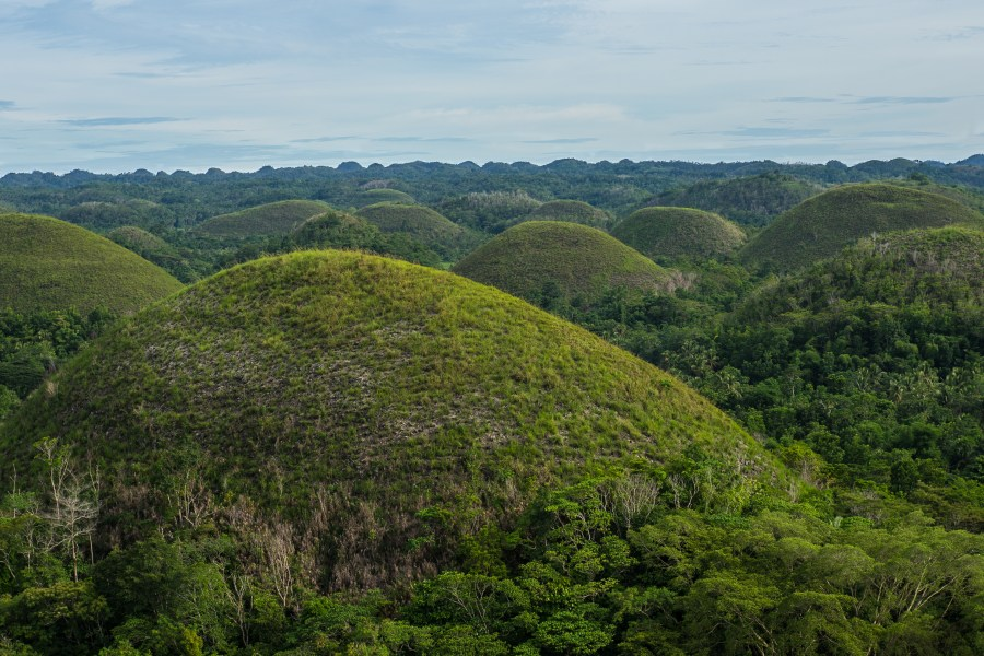 The infamous Chocolate Hills
