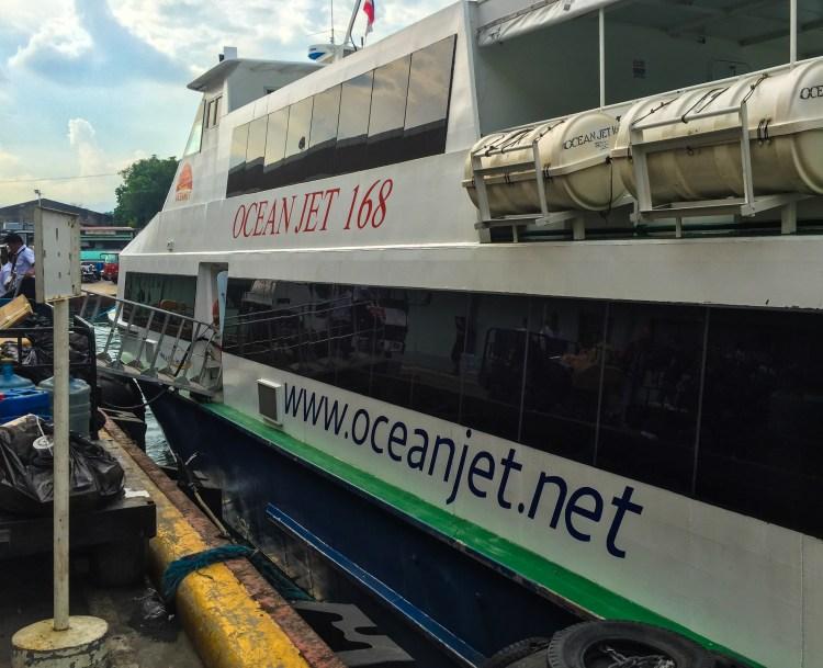 Ocean Jet boat