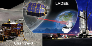 LADEE launch Chang'e-3