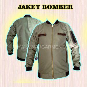 Hasil Produksi Jaket Bomber Taslan