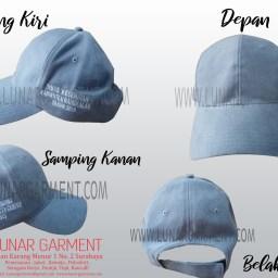 Hasil Produksi Topi Rapel dari Dinas Kesehatan Bangkalan